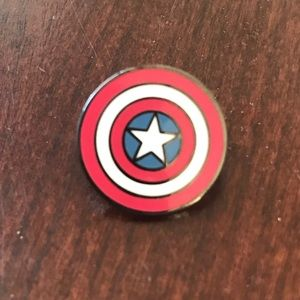 Avengers Captain America Shield Pin